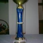 HKK-Pokal für Duna, die beste Kuvasz-Hündin des Jahre 2010